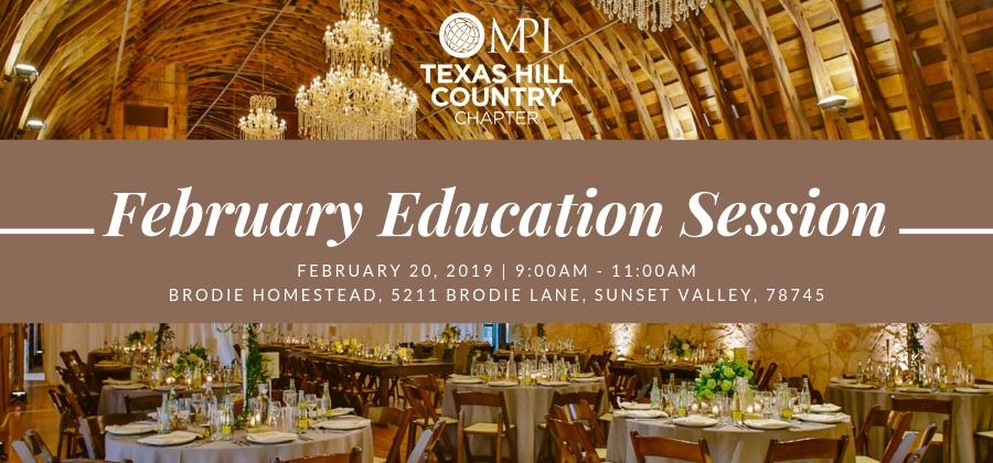 Educational Session: February 20, 2019