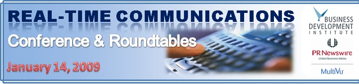 Real-Time Communications Conference and Roundtables
