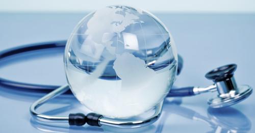 Glass globe image