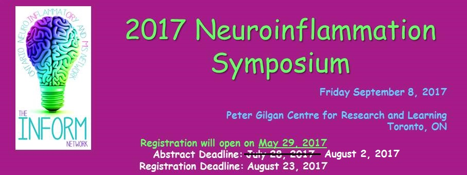 2017 Neuroinflammation & MS Symposium