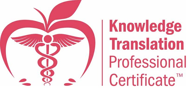 Knowledge Translation Professional Certificate - October 2012