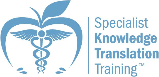 Specialist Knowledge Translation Training September 2019