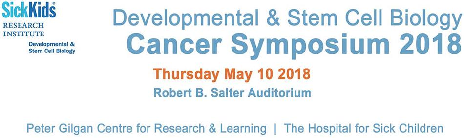 Developmental and Stem Cell Biology Cancer Symposium 2018