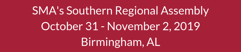 SMA's Southern Regional Assembly