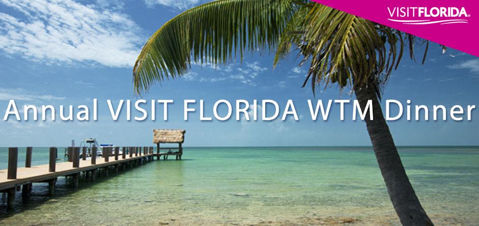 VISIT FLORIDA WTM Dinner 2016