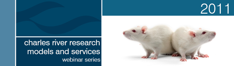 2011 Charles River Rat Webinar Series - Header Image