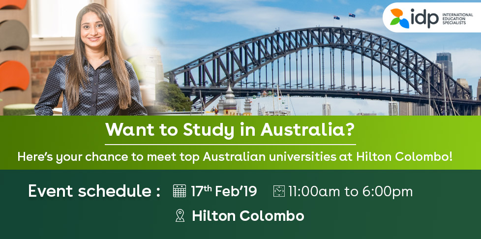 Australia Education Fair- 17 Feb 2019
