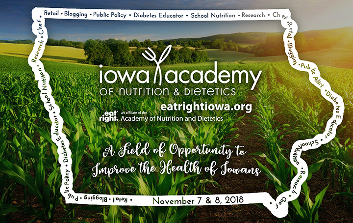 2018 IAND Annual Meeting - A Field of Opportunity to Improve the Health of Iowans