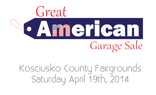 The Great American Garage Sale - Warsaw 2014
