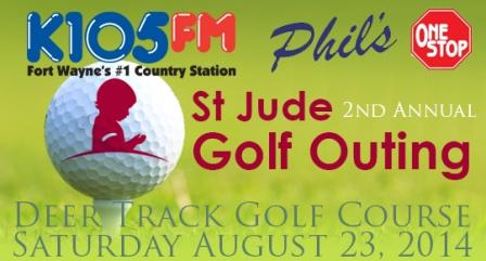 K105 St Jude Golf Outing 2014