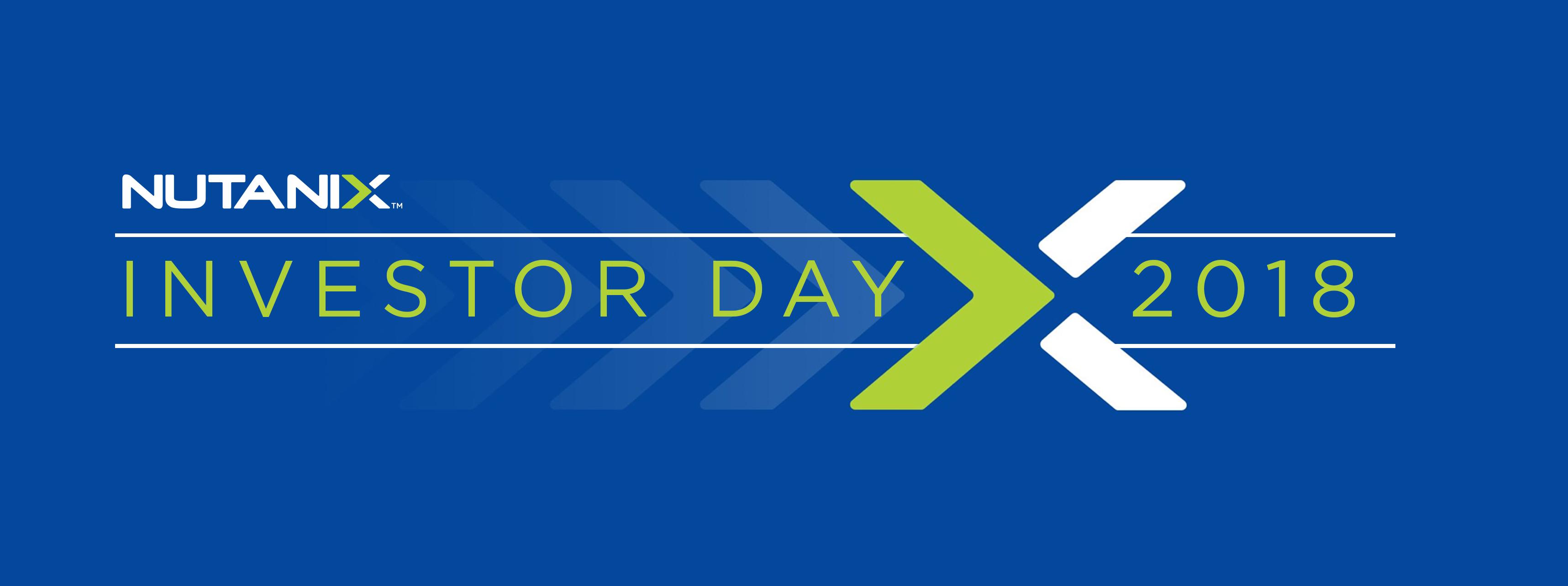 Nutanix Investor Day
