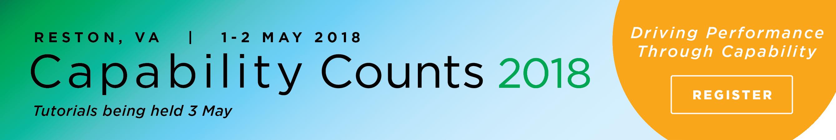 Capability Counts 2018