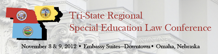 2012 Tri-State Regional Special Education Law Conference