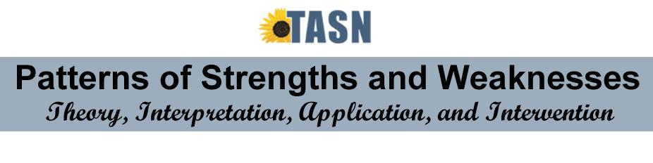 2013 April TASN Cognitive Correlates Training