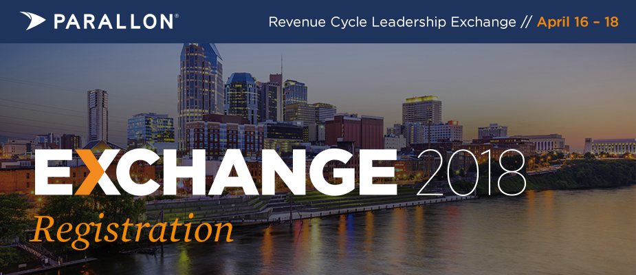 Parallon Revenue Cycle Leadership Exchange