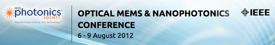 Optical MEMS & Nanophotonics 2012