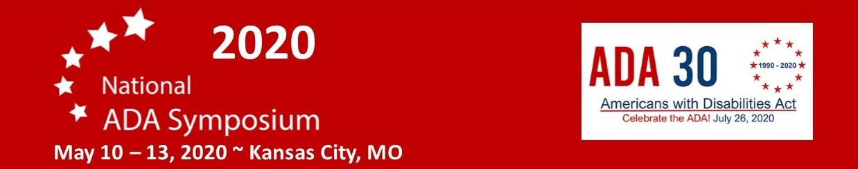 2020 National ADA Symposium