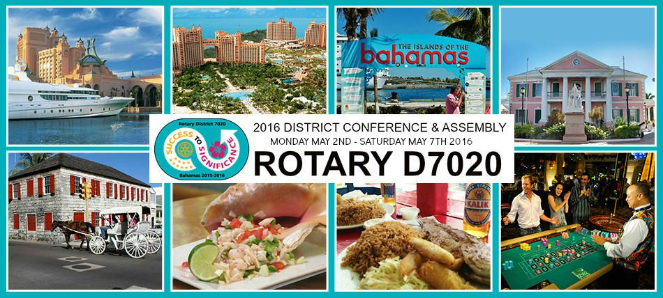Rotary District 7020 PETS Assembly & Conference 2016