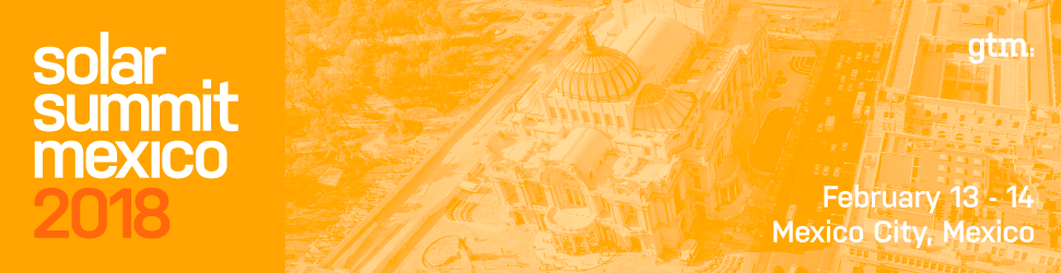 Solar Summit Mexico 2018