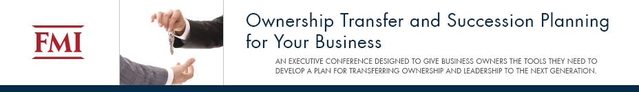 Ownership Transfer & Succession Planning | November 9-11, 2016 | Florida