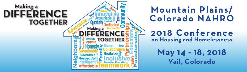 Colorado & Mountain Plains NAHRO 2018 Conference