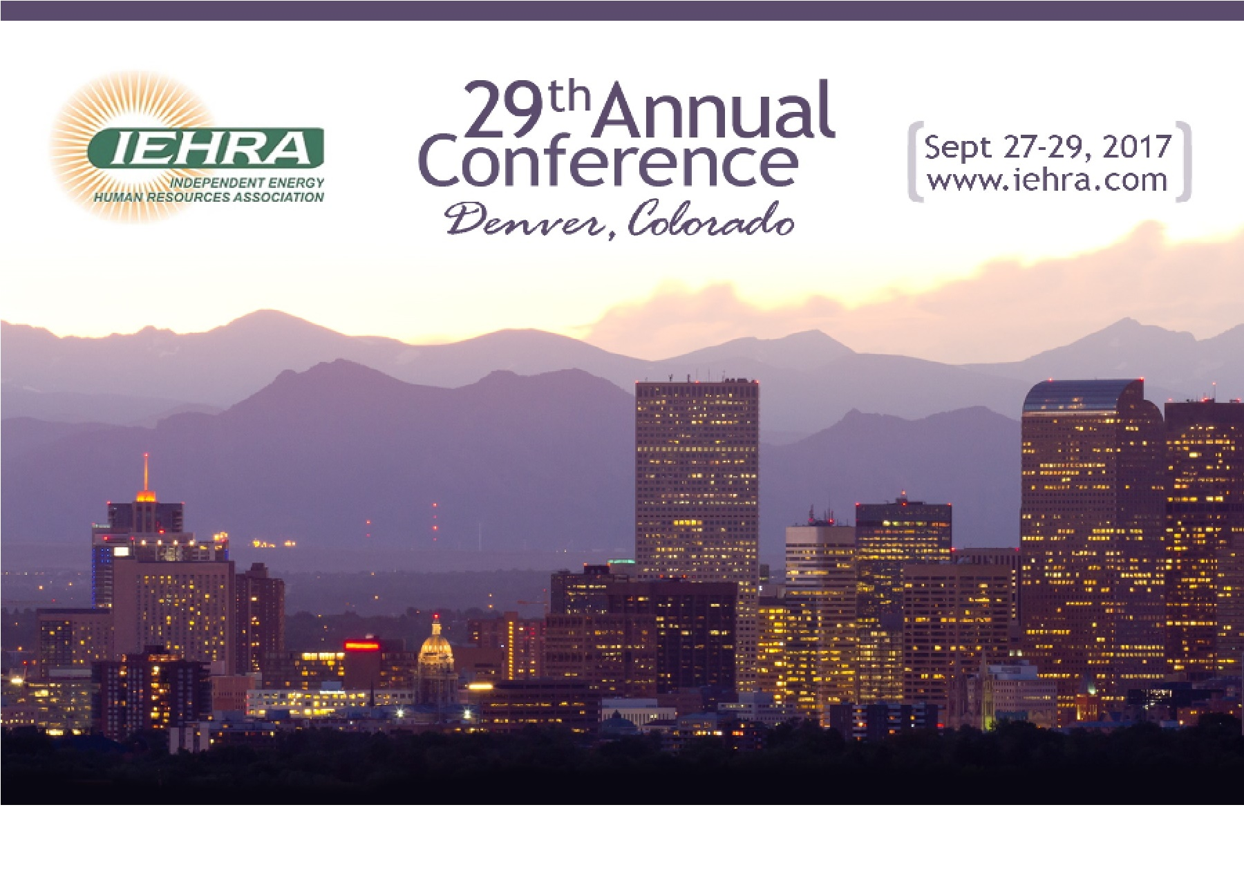 29th Annual Independent Energy Human Resources Conference