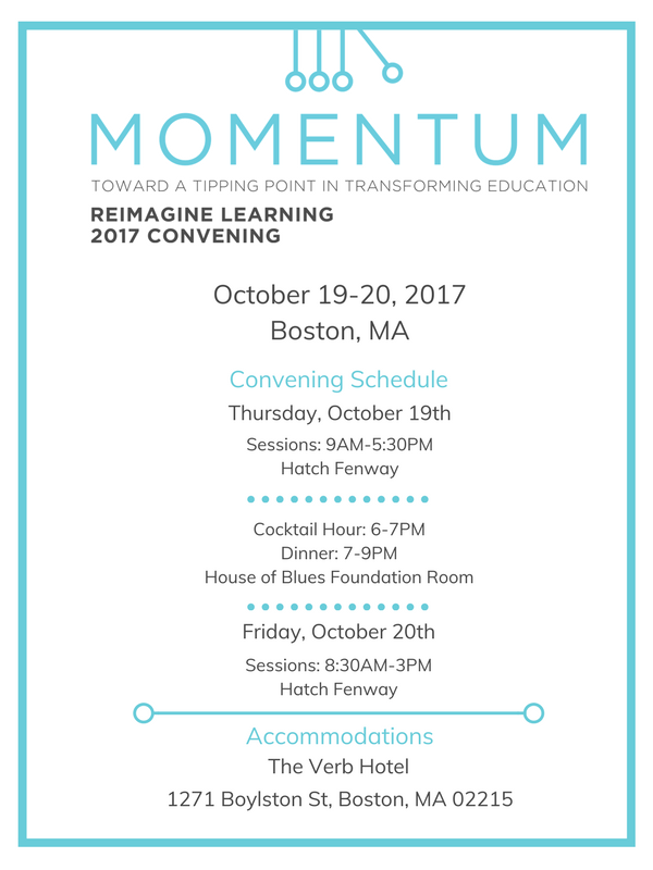 Reimagine Learning 2017 Convening Invite_Final