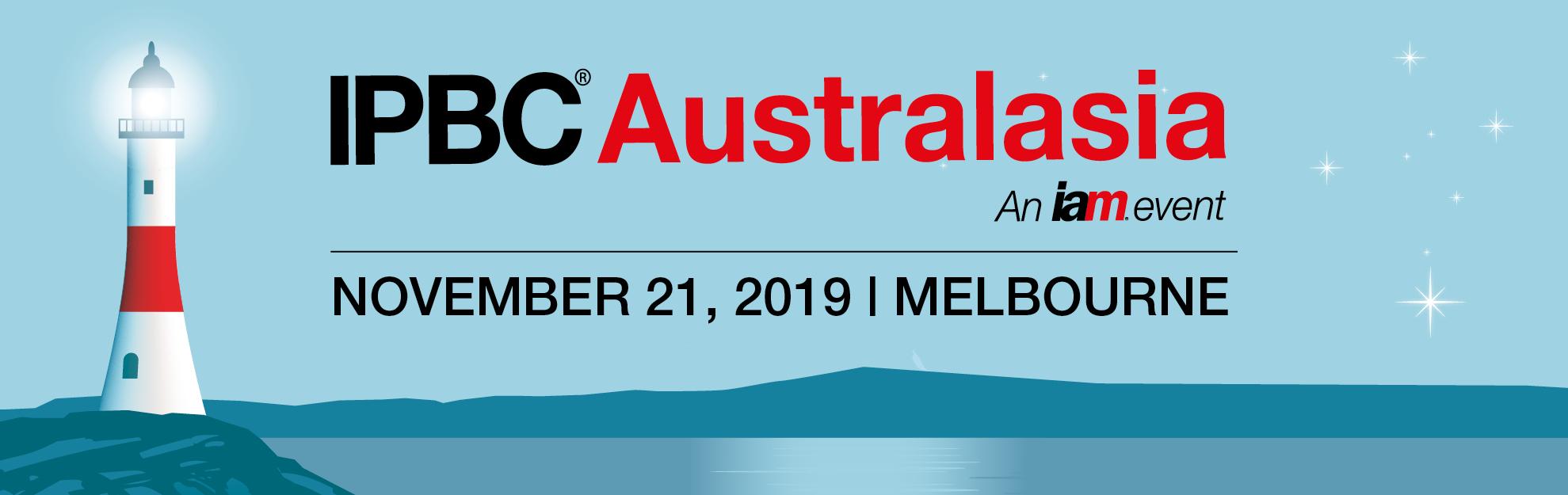 IPBC Australasia 2019