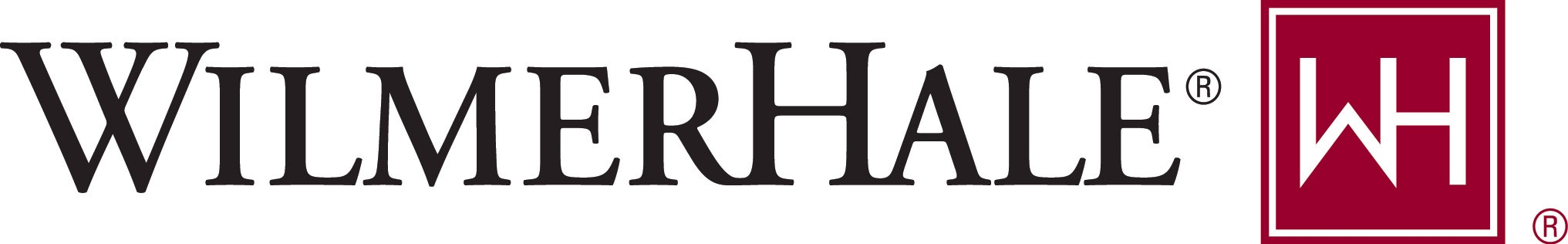 WilmerHale logo Color Signature.