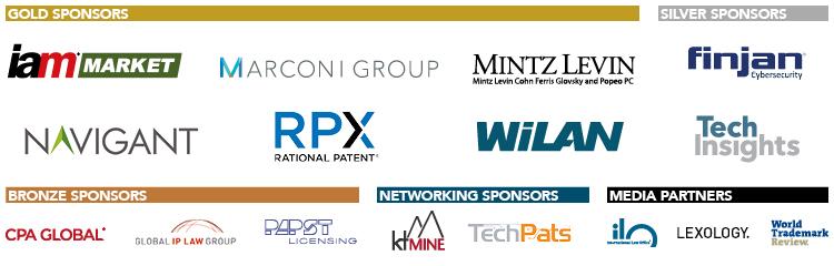 IAM Patent Licensing Sponsors