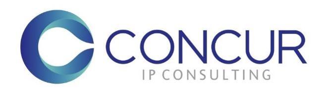 Concur IP Consulting 2018 logo