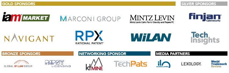 Patent Licensing 2017 - Sponsors