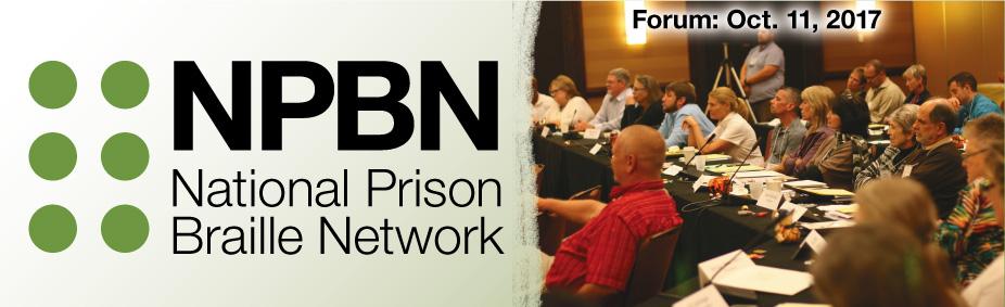 National Prison Braille Forum 2017