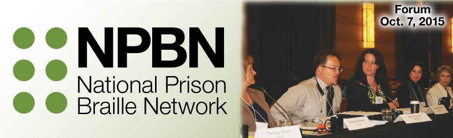 National Prison Braille Forum 2015