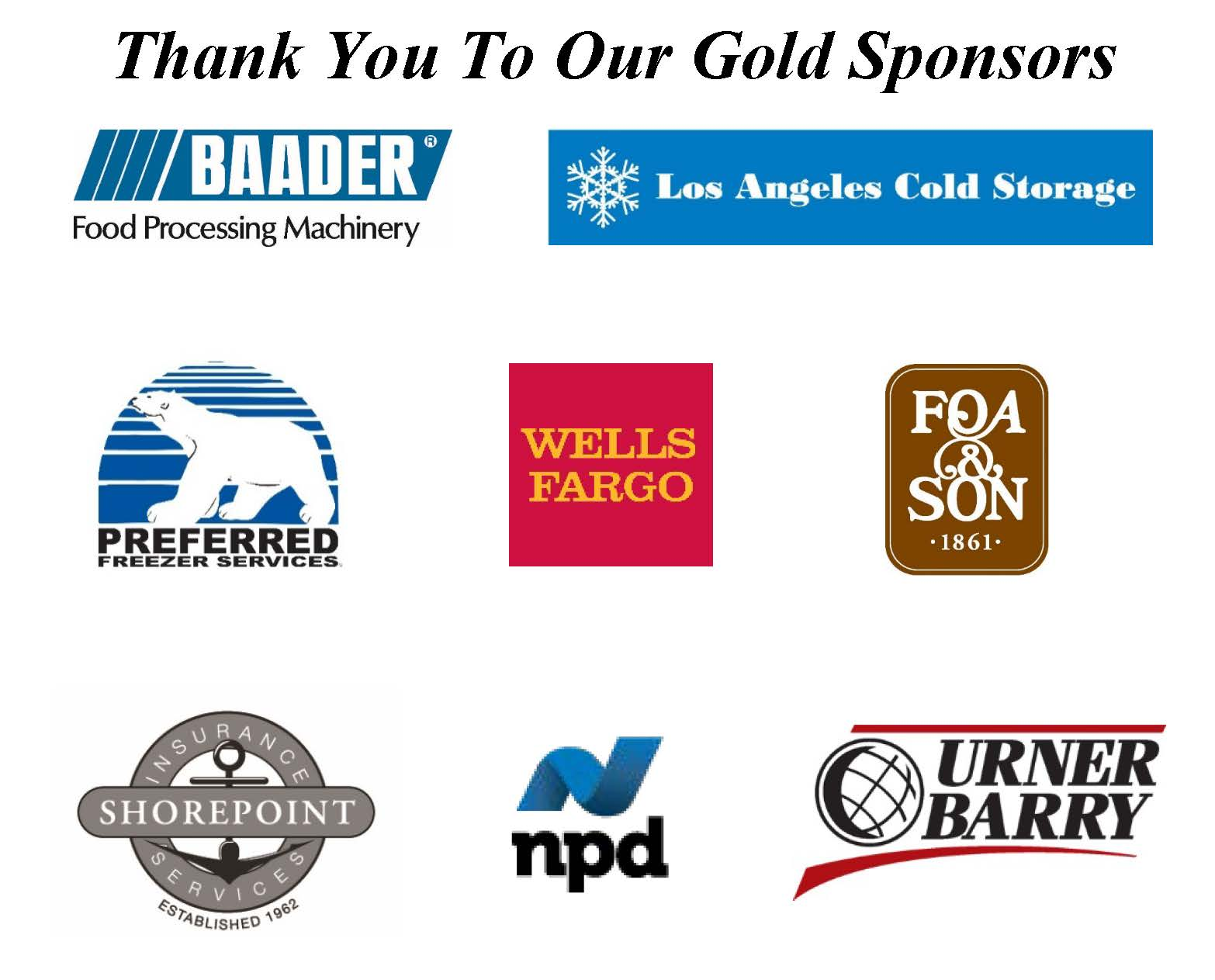 Thank you to our Gold Sponsors_2019 without RC