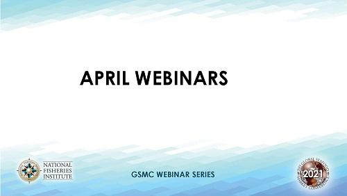 April Webinars template