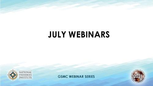 July Webinars template