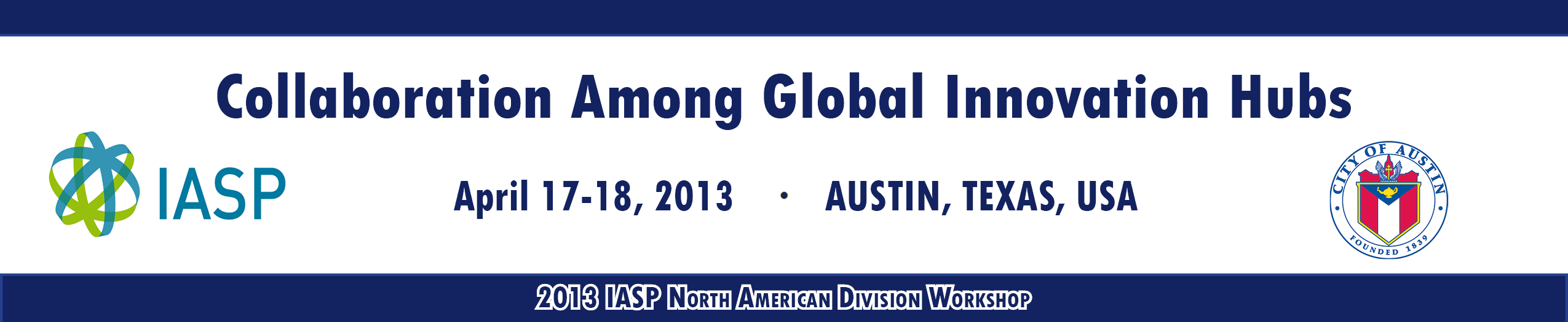 IASP North American Regional Division Workshop