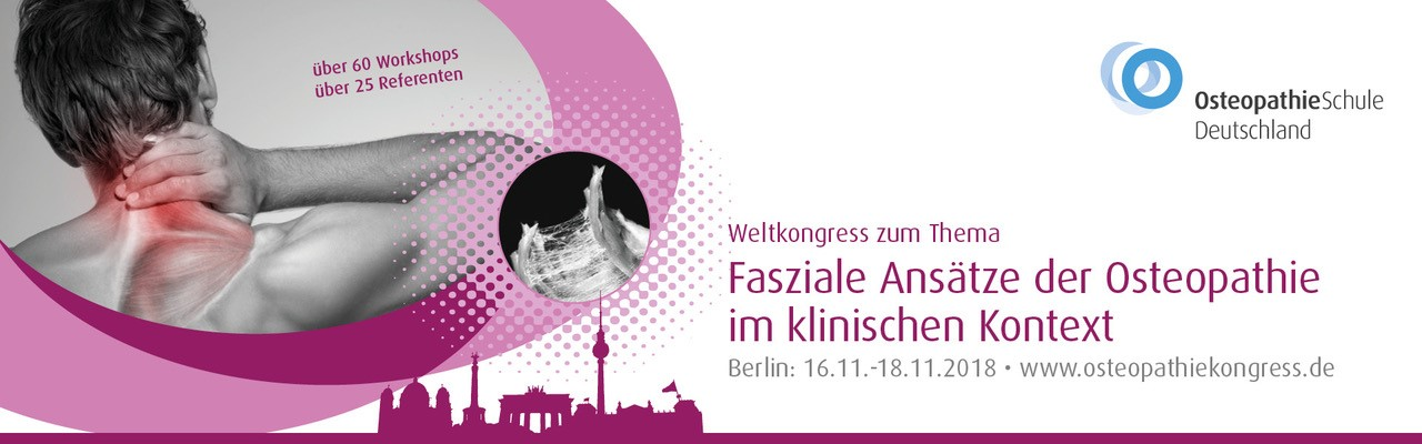 Osteopathie-Kongress 2018