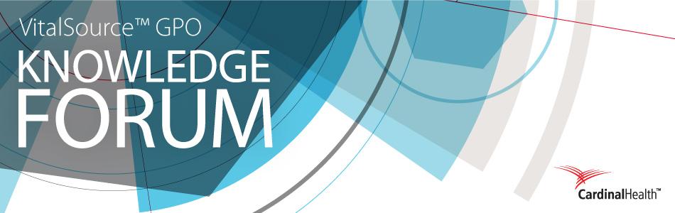 VitalSource™ GPO Knowledge Forum