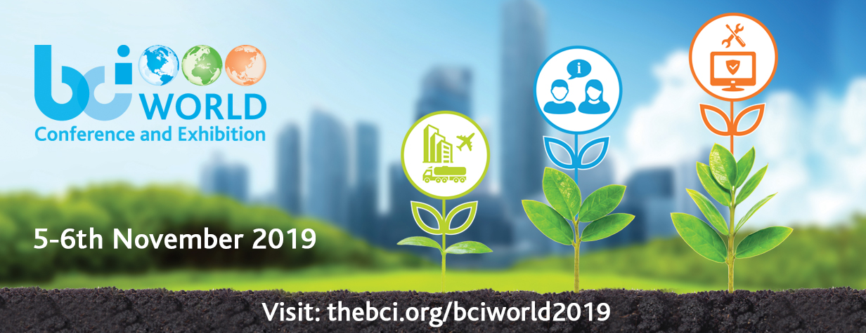 BCI World Conference and Exhibition 2019