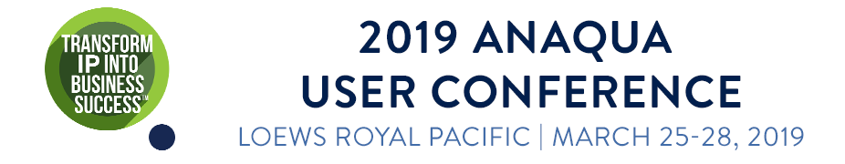 2019 Anaqua User Conference