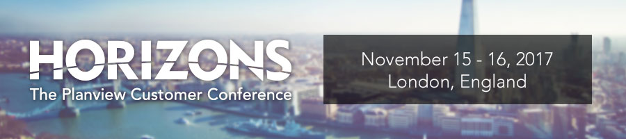 Horizons Europe 2017 The Planview Customer Conference