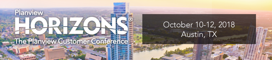 Planview Horizons 2018 – The Planview Customer Conference