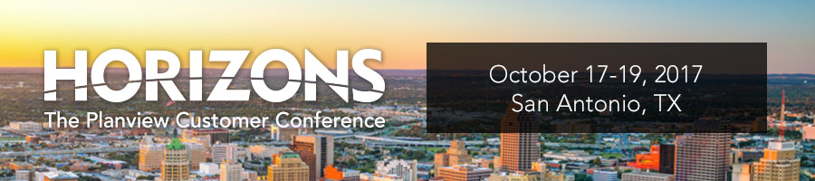 Horizons 2017 – The Planview Customer Conference