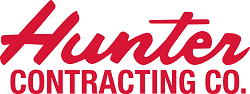 Hunter Contracting Co. logo - red_updated_250p