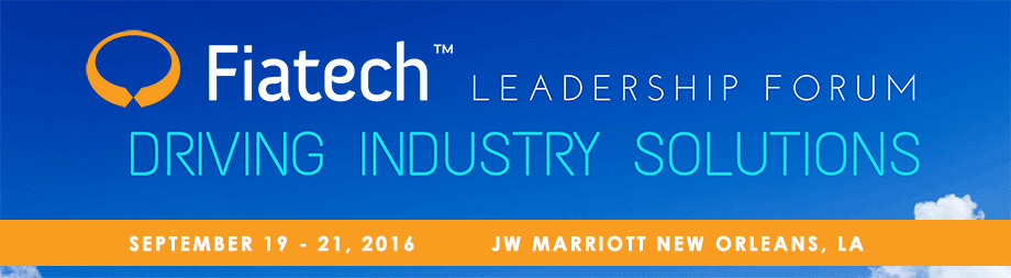 Fiatech 2016 Leadership Forum