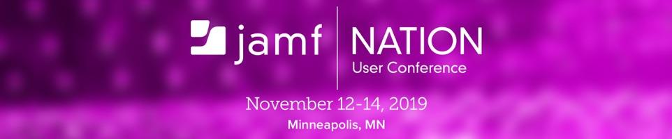 Jamf Nation User Conference 2019