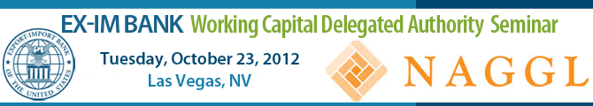 Ex-Im Bank Working Capital Delegated Authoirty Training with NAGGL