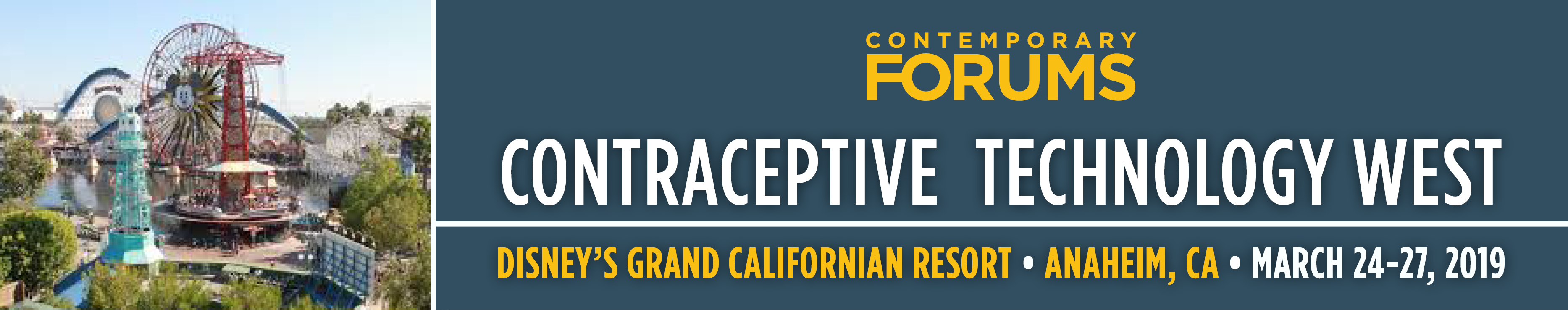 2019 Contraceptive Technology - West (March 24-27, 2019)